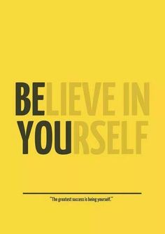 Be live in your self