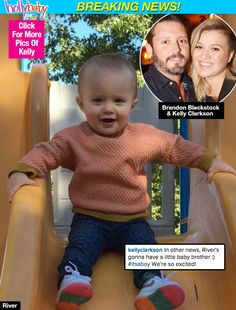 So excited about Brandelly baby #2!!! Wonder what they'll name this boy!???  Kelly Clarkson: The Adorable Way She Announced She's Having A Boy