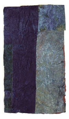 Hark! Handmade Paper Studio three from the series Driftless Reveries: lost and found