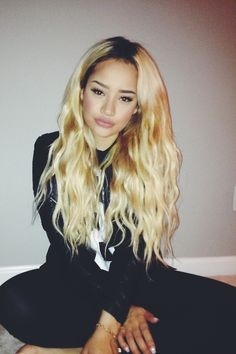 Blonde Natural Wave Hair,Long Style,Love it !