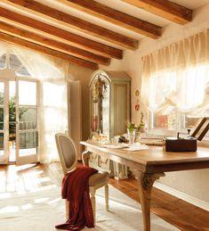 La casa de Pamela, rústica y cosmopolita · ElMueble.com · Casas