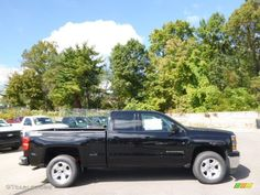 Black 2015 Chevrolet Silverado 1500 LT Z71 Double Cab 4x4 Exterior Photo #97623082