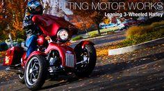 Tilting Motor Works - Leaning 3-Wheeled Harley.    http://tiltingmotorworks.com/