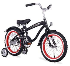 Special Offers - Firmstrong Bruiser Boys Single Speed Bicycle w/ Training Wheels 16-Inch Black w/ Red Rims - In stock & Free Shipping. You can save more money! Check It (April 03 2016 at 03:46PM) >> http://cruiserbikeswm.net/firmstrong-bruiser-boys-single-speed-bicycle-w-training-wheels-16-inch-black-w-red-rims/