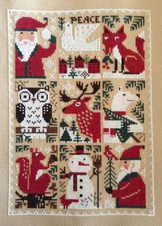 Prairie Schooler Christmas | Stitches, Christmas and Cross stitch on Pinterest
