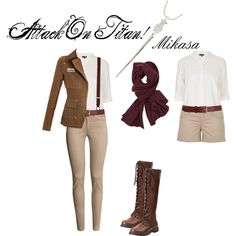 """Attack On Titan"" Def. my inspiration for mine and Alex's Halloween costume! <3"