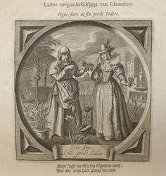 [Pominuteľnosť] Vanitas, Vergänglichkeit; Ogni fiore al fin perde l´odore; medirytina - Hondius W. - virtuálny antikvariát na Antikvariatik.sk