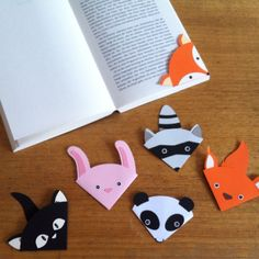 Make a Cute Animal Bookmark - Guidecentral