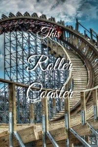 This roller coaster: comparing life to the popular amusement park ride.