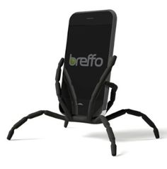 Breffo Spiderpodium! I'm using this spider-like gadget for fastening my iphone to the top of a bike~