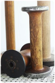 vintage spools~ began collecting these when they were $3 -$5 each... I have lots of these!!!!!!!!