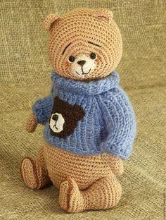 Мишки Тедди ручной работы. Ярмарка Мастеров - ручная работа. Купить Мишка тедди Мишка. Handmade. Бежевый, медвежонок тедди