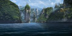 Forgotten Island on Behance