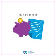 The most important step to getting out of debt is to make a budget!  Do this every month and you will be out of debt in no time - and stay that way!