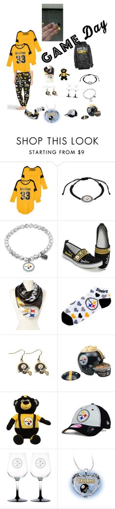 """#gameday"" by angelia-styles ❤ liked on Polyvore featuring The Bradford Exchange, For Bare Feet, WinCraft, New Era, Boelter and Torrid"