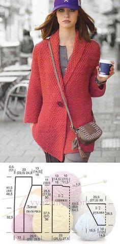 Вязание пуловера реглан | ДОМО |