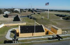 Ft. Moultrie ~ Right around the corner from where we stayed