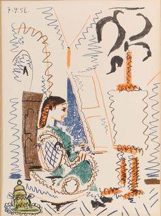 Pablo Picasso - The Cannes Workshop