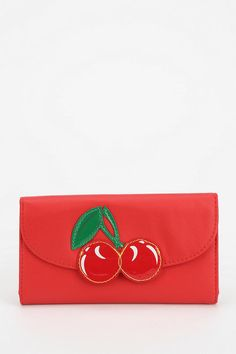 Cooperative Fresh Fruit Checkbook Wallet #UrbanOutfitters
