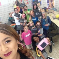 Check out our Lakewood Afterschool site having some major #selfie fun! #YMCA