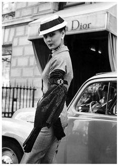 Christian Dior, photo by Regina Relang, Paris, 1951