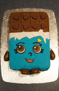 Cheeky Chocolate Shopkins Cake