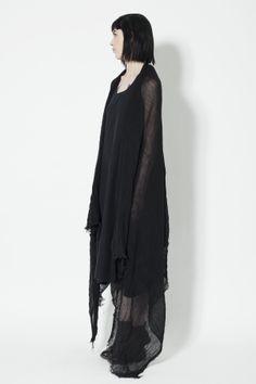 www.ovate.ca | silhouette, all black, details, linen gauze