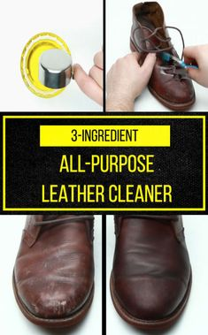 If Your Leather Looks Tired, Make This Clever 3-Item Cleaner