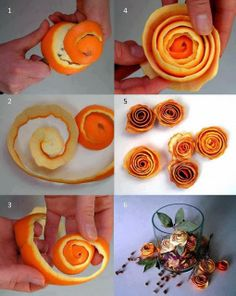 If you eat oranges (and you should), then why not create roses out of peels and make a potpourri or a centrepiece for the most citrus fresh ...