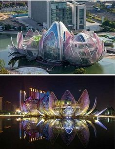 Unusual Buildings, Colourful Buildings, Amazing Buildings, Modern Buildings, Future Buildings, Futuristic Architecture, Beautiful Architecture, Contemporary Architecture, Art And Architecture