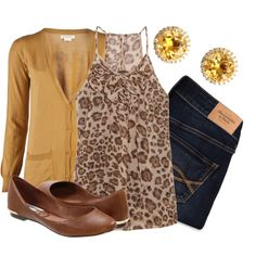 """""""Mustard Meow"""" by qtpiekelso on Polyvore"""