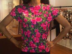 New Vintage Floral Shirt!!