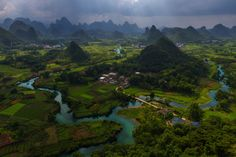 https://flic.kr/p/YJEP2G | Green Planet | The luscious rural countryside of Guangxi province in Southern China. Home to thousands of karst mountain peaks.  www.peterstewartphotography.com   Follow my latest updates on:   Facebook  |    500px  |   Instagram  |     Twitter  For image licensing or print enquiries, please contact me at: info@peterstewartphotography.com