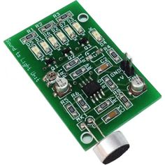 """This PROJECTS will turn your favorite music into light effects, a microphone picks up the sound and gives light effects with 6 Red LEDs, ideal for creating fun atmosphere at parties & discos. Supply 9V-12V DC. Features Supply 9V-12V DC (PP3 9V Battery) On Board Preset for Gain Adjust 6 On Board LEDs On Board<a class=""""moretag"""" href=""""http://www.electronics-lab.com/project/sound-light-effect-2/"""">Read More</a>"""