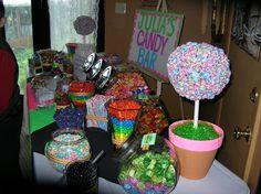 Julia's Candy themed Bat Mitzvah