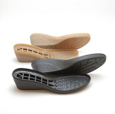 Rubber soles wedge for your own felted handmade shoes, clogs and booties. These rubber soles will make your handmade footwear suitable for wearing outside