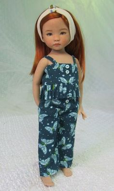 MHD Designs - Mini Riens - Fashion Pattern for Dianna Effner's 13 Inch Little Darlings