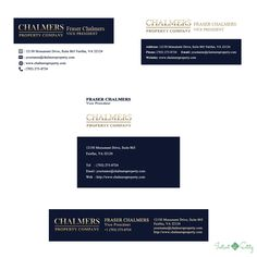 Chalmers HTML Professional Email Signatures - Instant Entity | Professional HTML Email Signature