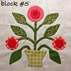Mrs. Lincoln's sampler quilt by Anita Ireta