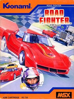 Road Fighter (MSX) - Capa