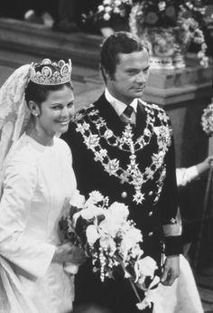 Cinco vestidos de novia para un aniversario real