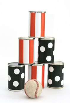 Halloween Carnival Ball Toss Party Game #partygames #halloweenparty