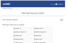 socializr- plan your event Create A Survey, Survey Form, What Type, 12th Birthday, Back To School, Apps, Baby Shower, Events, Invitations