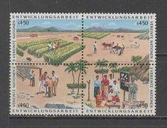 UN VIENNA Sc# 61a MNH FVF 4Block Farm Cattle - bidStart (item 14706897 in Stamps... United Nations)