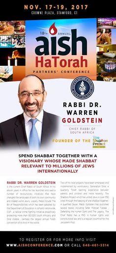Aish HaTorah Partners' Conference Chief Rabbi, Conference