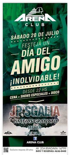 Sábado 20/07/2013 - Día del Amigo / Arena Club - Pinar de Rocha