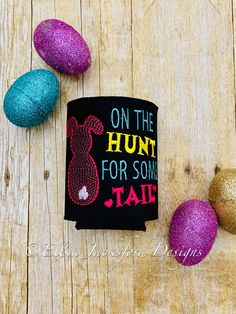 ITH Hunt For Tail Can Insulator Embroidery Design Embroidery Files, Machine Embroidery, Embroidery Designs, Design Files, My Design, Following Directions, Easy Projects, Insulation, Create Yourself