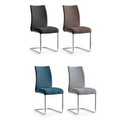 Silla fabricada en cromo y tela. Disponible en 4 colores!! ¿Quieres saber más? 👉 www.ciamohome.com/61-sillas