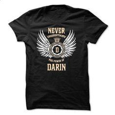 Never Underestimate The Power of DARIN - #checkered shirt #black sweater. I WANT THIS => https://www.sunfrog.com/Names/Never-Underestimate-The-Power-of-DARIN-49996223-Guys.html?68278