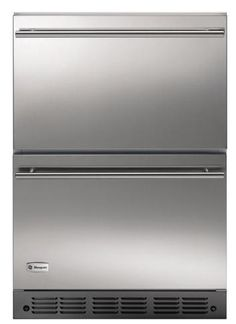 GE Monogram Double-Drawer Refrigerator